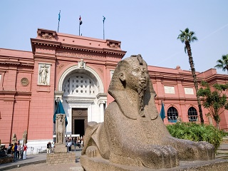1-Day Egyptian Museum, Great Pyramids Tour from Cairo with Airport Transfer