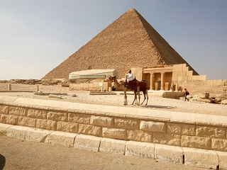 1-Day Giza Pyramids and Egyptian Museum Private Tour from Sukhna Port