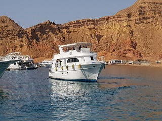 1-Day Tiran Island Snorkeling Tour By Boat from Sharm