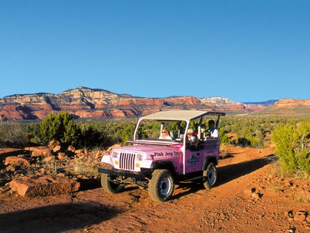 2-hr Coyote Canyons Pink Jeep Tour from Sedona