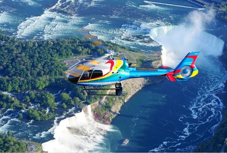 Niagara Helicopter Ride