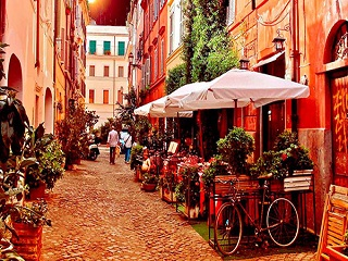 5-Day Essential Italy of Rome, Florence, Vience Tour from Rome with Airport Pick up
