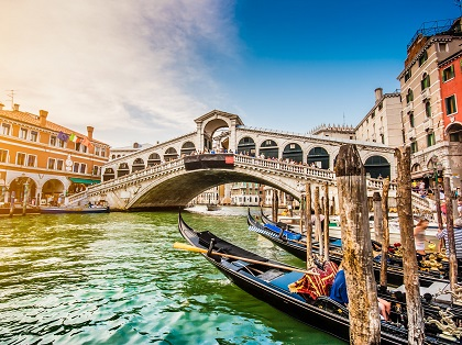 10-Day Six Countries, Venice, Paris  tour from London