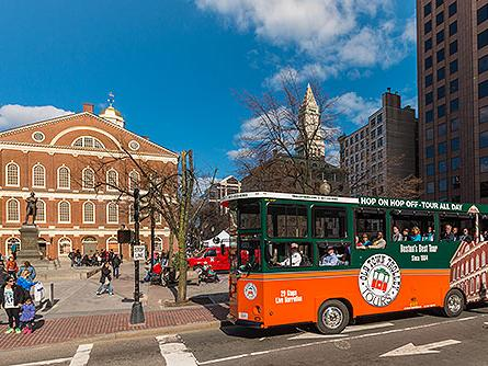 1-Day Boston Old Town Trolley Tour