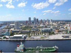 Downtown Tampa and Little Manatee River Helicopter Tour from Tampa