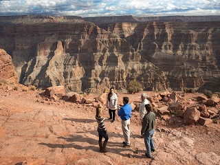 1-Day Grand Canyon West Rim Classic Deluxe Pink Jeep Tour from Las Vegas