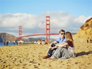 10-Day West Grand Canyon with Overnight Stay, San Francisco and Theme Parks Tour from Los Angeles