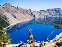 火山口湖 (Crater Lake National Park, OR)
