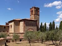 The monastery of Sant'Anna in Camprena