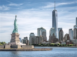 5-Day East Coast Tour Package (New York/Jersey Airport Transfer In, BUF Out)