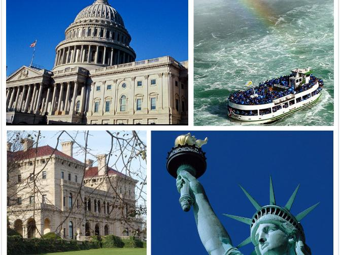 7-Day New York, Washington DC, Niagara Falls East Coast Tour from Boston with Airport Pick-up