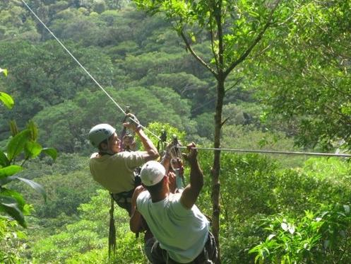 1-Day Monteverde Canopy Tour from Monteverde