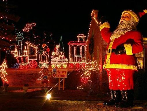 1-Day Christmas Festival of Lights,  Amusement Park from Boston