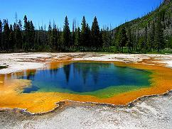 11-Day Yellowstone Overnight,  East & South Rim Grand Canyon and Theme Parks Tour from Los Angeles with Airport Transfer