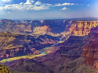 4-Day Grand Canyon South Rim, Lake Powell, Antelope Canyon Tour from San Francisco/Los Angeles/Las Vegas