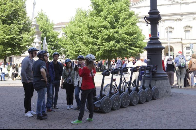 Segway Night Tour of Milan