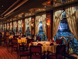 3-Hour Dinner and Show at 5-star Nile Cruise from Cairo