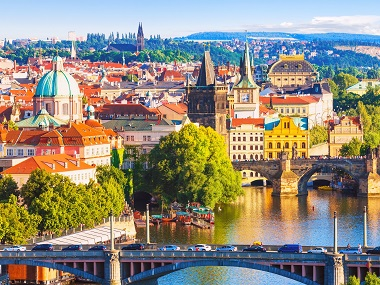 2-14 Day Prague,  Budapest,  Milan,  Paris,  Frankfurt  Splendid Europe Flexible Tour from Prague in English
