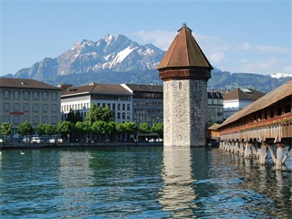 2-8 Days Lucerne,  Zurich, Frankfurt, Prague, Budapest Central Europe Flexible Tour from Lucerne in English