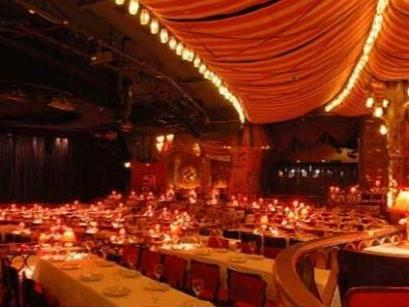 Dinner and Show at Moulin Rouge