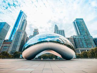 chicago, illinois, lake michigan lake