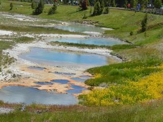 wyoming, yellowstone, west thumb geyser basin