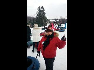 Vermont, mount snow, snow tubing
