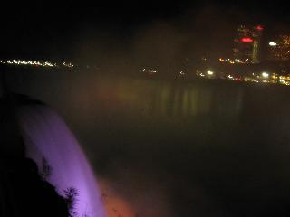 new york, niagara falls, maid of the mist, night