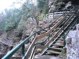 new york, keesville, ausable chasm