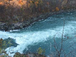new york, niagara falls, river