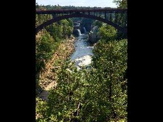 new york, keeseville, ausable chasm