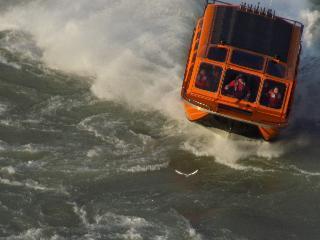 new york, niagara falls, jet boat ride