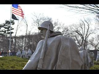 washington dc, dc, korean war memorial