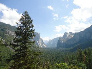 california, yosemite, half dome