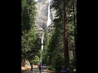 california, yosemite, waterfall