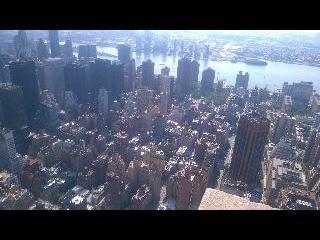 new york, new york city, manhattan, empire state building