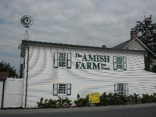 pennsylvania, lancaster, amish farm house