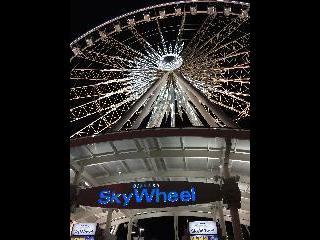 new york, niagara falls, skywheel