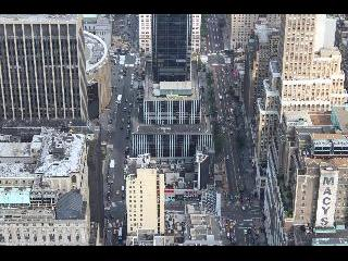 new york, new york city, view from times square