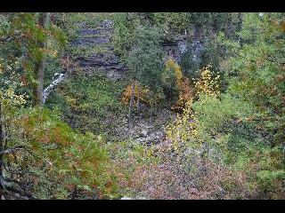 new york, keesville, ausable chasm, fall foliage
