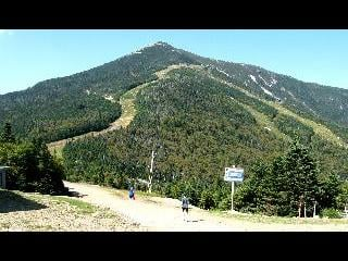 new york, lake placid town, little whiteface mountain
