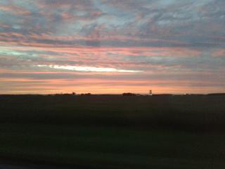 canada, quebec, sunset