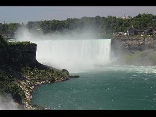 Niagara falls view from American side