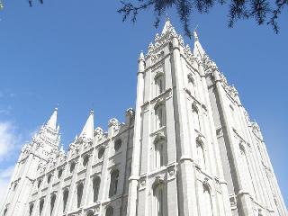 Salt Lake City Temple; Utah