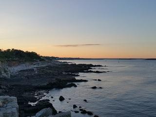 Rocks, ocean, maine