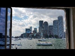 Boat, harbor, boston, usa