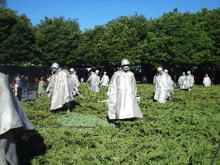 washington dc, dc, korea war memorial