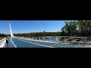 california, redding, sundial glass bridge