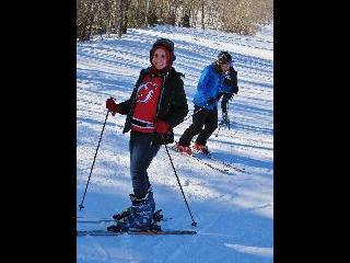 vermont, green mountain national forest, mount snow, ski lesson