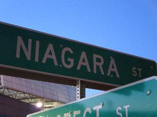new work, niagara falls, niagara street